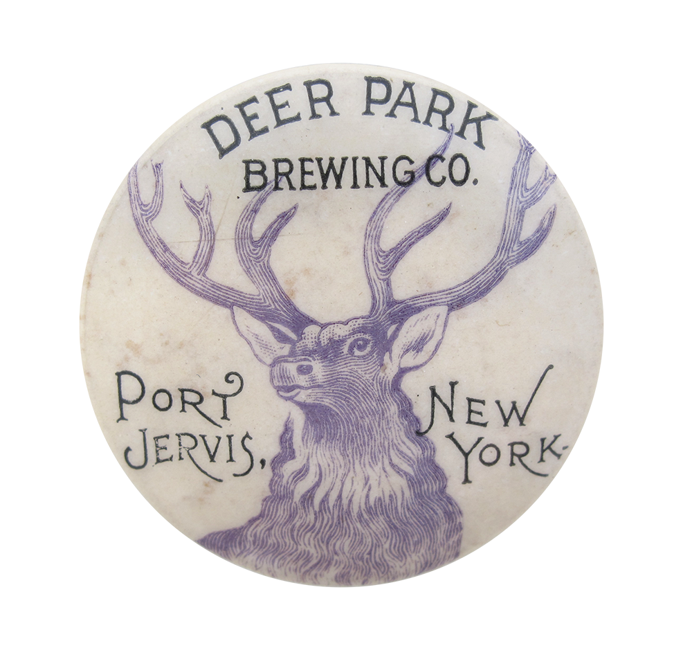 Deer Park Brewing Company Beer Button Museum