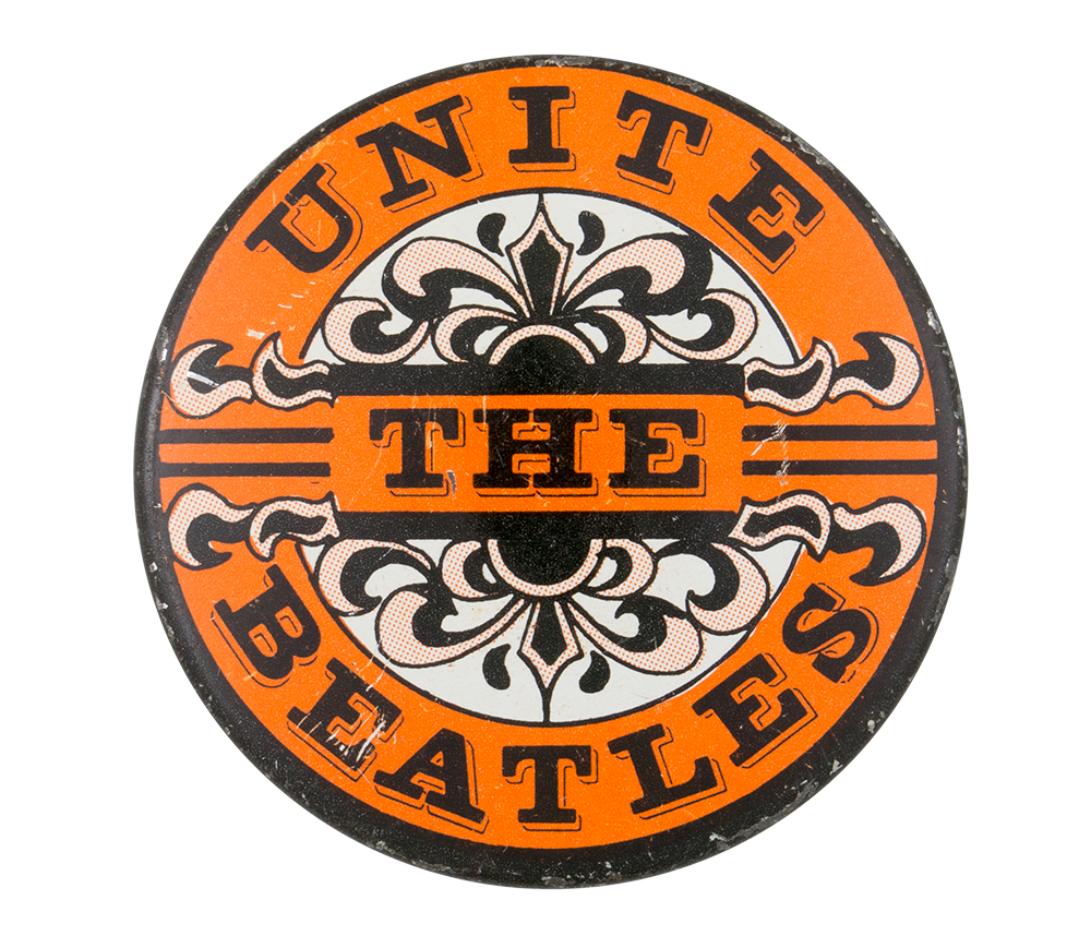 Unite the Beatles Cause Button Museum