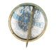 First East to West Transatlantic Plane button back Advertising Button Museum