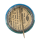 Save Old Ironsides button back Cause Button Museum