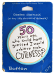 50 Years Ago Cuteness button paper Button Museum