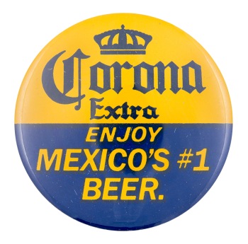 Corona Extra Beer Button Museum