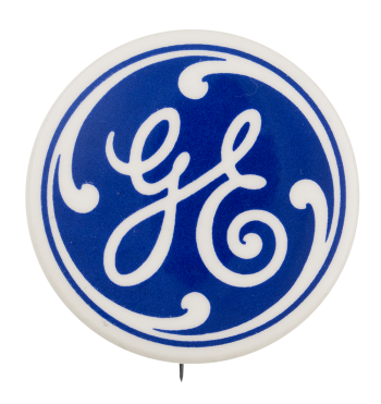 General Electric Advertising Button Museum