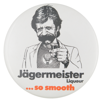 Jagermeister Advertising Button Museum