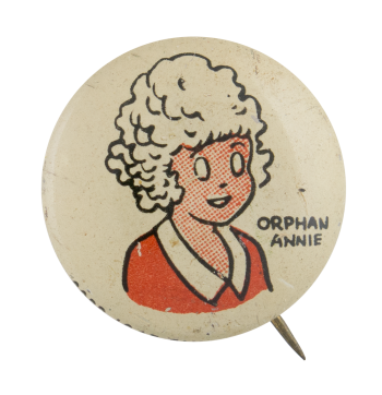 Kellogg's Pep Orphan Annie Advertising Button Museum
