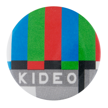 Video Advertising Button Museum
