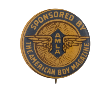 The American Boy Magazine Advertising Button Museum