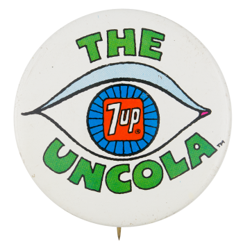 The Uncola Eye Advertising Button Museum