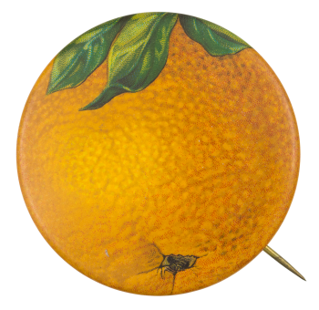 Orange Art Button Museum