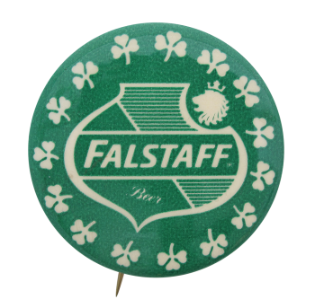 Falstaff Green Beer Button Museum