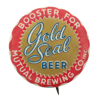 Gold Seal Beer Beer Button Museum