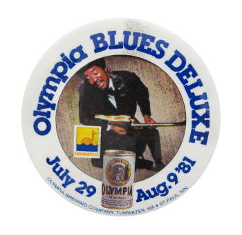 Olympia Beer Blues Beer Button Mueum