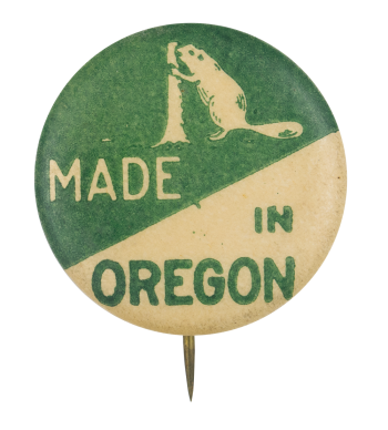 Made in Oregon Beavers Button Museum