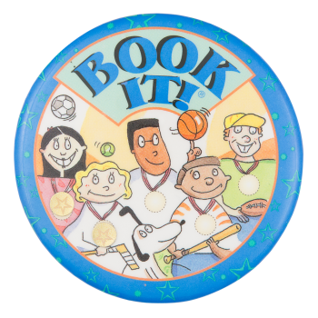 Book It Sports Cause Button Museum