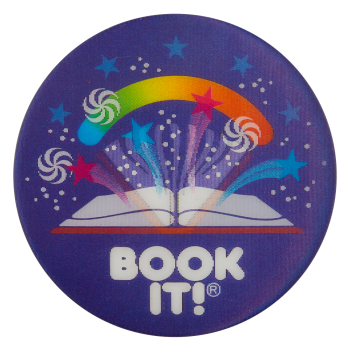 Book It with Swirls Cause Button Museum