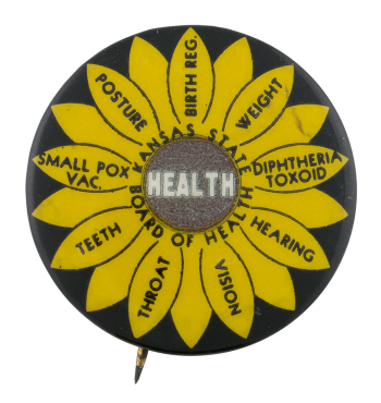 Kansas State Board of Health Cause Button Museum