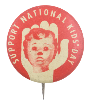 National Kids Day Cause Button Museum