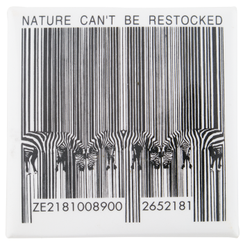 Nature Can't Be Restocked Cause Button Museum