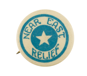 Near East Relief Cause Button Museum