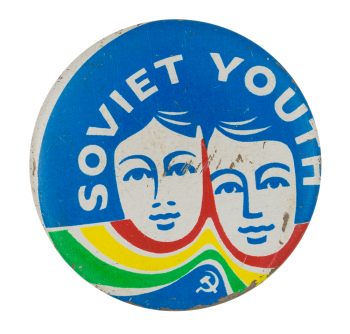 Soviet Youth Cause Button Museum