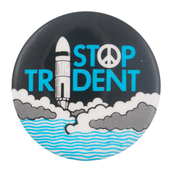 Stop Trident Cause Button Museum
