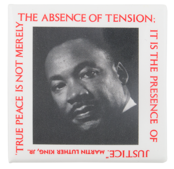The Presence of Justice Cause Button Museum
