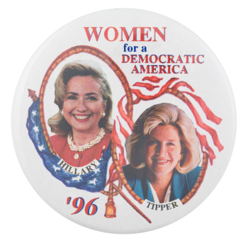Women for a Democratic America Cause Button Museum