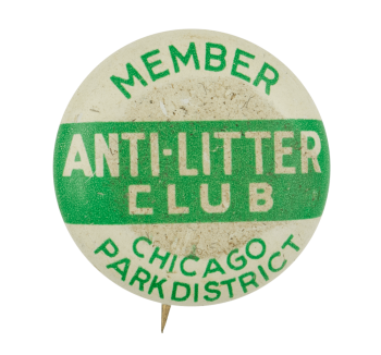 Anti-Litter Club Chicago Button Museum