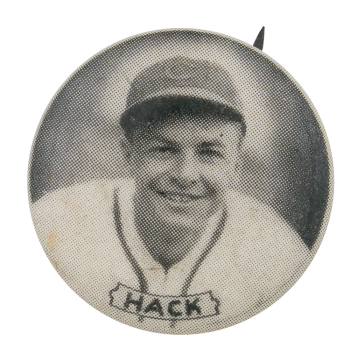Chicago Cubs Stan Hack Sports Button Museum