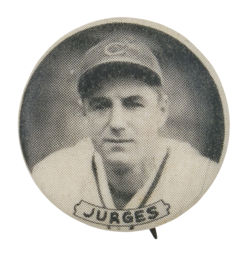 Chicago Cubs Billy Jurges Sports Button Museum