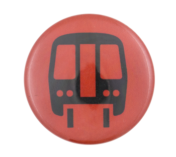 Chicago Elevated Train Red Chicago Button Museum