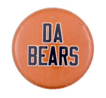 Da Bears Chicago Button Museum