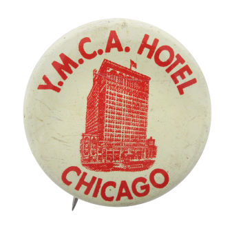 Y.M.C.A. Hotel Chicago Button Museum