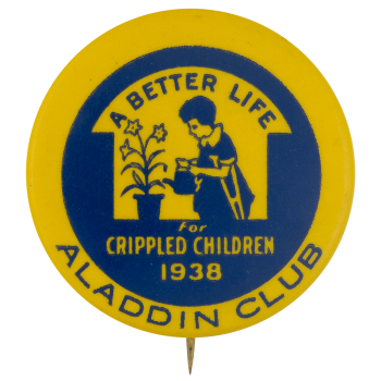 Aladdin Club Club Button Museum