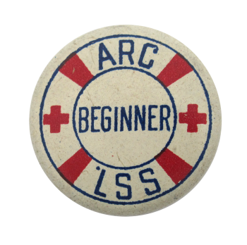 American Red Cross Life Saving Service Club Button Museum