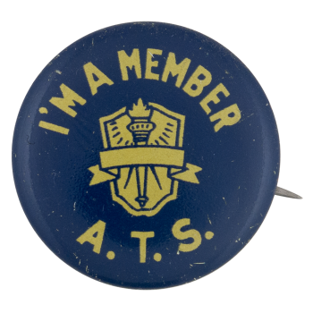 A.T.S. Member Club Button Museum