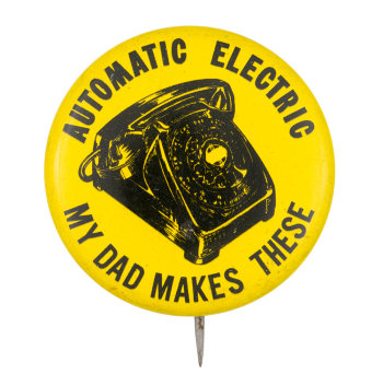 Automatic Electric Club Button Museum