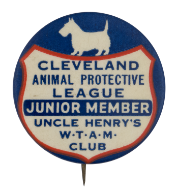 Cleveland Animal Protective League Club Button Museum