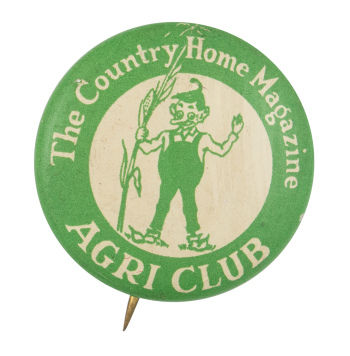 Country Home Magazine Agri Club Button Museum