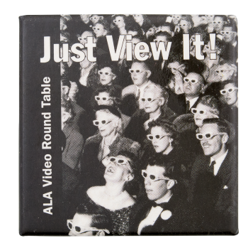 Just View It Club Button Museum