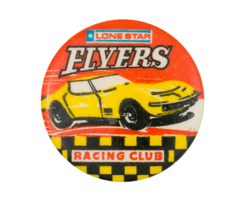 Lone Star Flyers Racing Club Club Button Museum