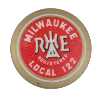 Milwaukee Local 122 Club Button Museum