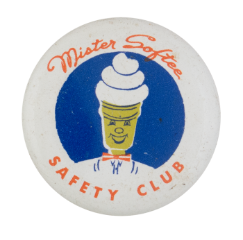 Mister Softee Safety Club Button Museum