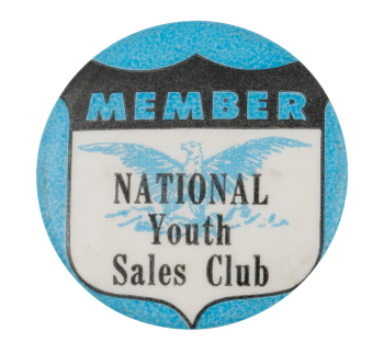 National Youth Sales Club Club Button Museum