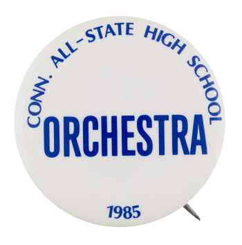Orchestra 1985 Club Button Museum