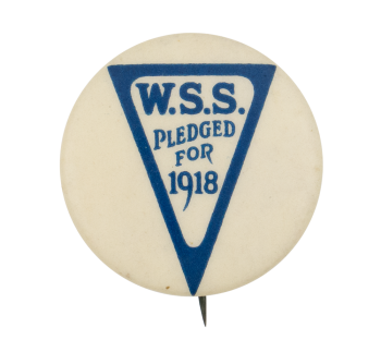 Pledged for 1918 Club Button Museum