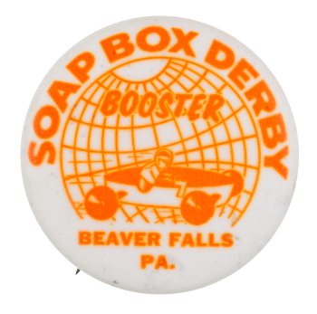 Soap Box Derby Booster Club Button Museum