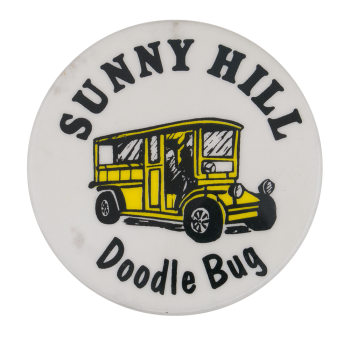 Sunny Hill Doodle Bug Advertising Button Museum
