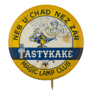 Tastykake Magic Lamp Club Button Museum