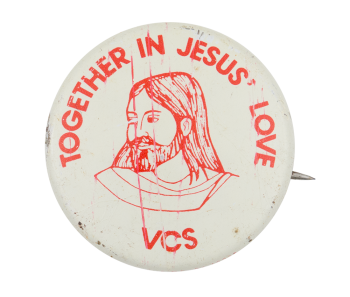 Together in Jesus' Love Club Button Museum